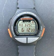 "Rare CASIO JC-20 (1265) Jogging ""Running Man"" Japan M 45mm watch - New Battery"