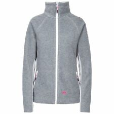 Trespass Shania Womens Full Front Zip Fleece Jacket in Grey