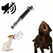 Dog Puppy Whistle Training Ultrasonic Pitch Sound Adjustable Silent Key Chain US