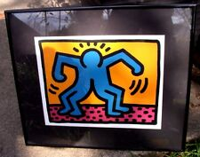 Keith Haring - Reproduction Framed - Double Man