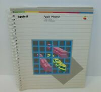 1982 Apple Writter 11 for iie DOS 3.3 Based Manual