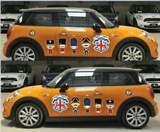 1 set Union Jack Graphics British soldiers Decal Car Sticker For MINI Cooper