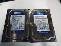 """Lot of 10 Western Digital Desktop 250GB SATA 7200RPM 3.5"""" HDD WD2500"""