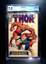 COMICS: Marvel: Thor #135 (1966), Mjolnir's name first revealed - CGC 7.5