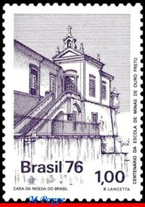 1478 BRAZIL 1976 OURO PRETO SCHOOL OF MINING, EDUCATION, CHURCH, MI# 1563, MNH