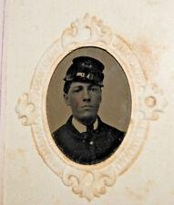 Antique Civil War Photo Album CDVs & Tintypes Soldier Union Generals