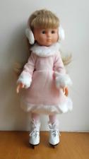 Tenue robe rose hiver patin a glace poupée Les chéries corolle Paola reina