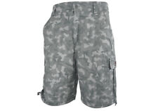 """NEW Flexifoil Premium Quality Comfortable Smart Casual Shorts - Camouflage - 34"""""""