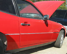 1987 Porsche 924 Right Door Complete with Glass and Mirror