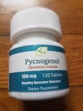 Pycnogenol 100mg 120  Tablets Antioxidants Natural and organic
