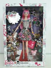 Barbie TOKIDOKI - Collector - NRFB - Neuve - Black Label - 2014 - tatouage -rose