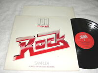 """Rock - Sampler - Maxell"" 1979 Rock LP, Nice VG++!, RCA, Various Artists-Triumph"