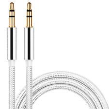 3.5mm 1M Coche Auto Audio Jack Plug Macho a Macho Cable AUX Línea para Ipod MP3