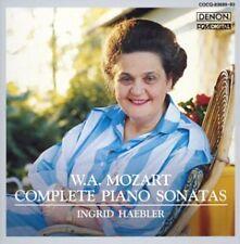 MOZART:PIANO SONATAS [Audio CD] INGRID HAEBLER
