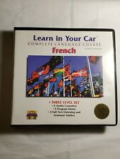 Learn in Your Car French 3-Level Set by Henry N. Raymond (1994, Mixed Media)