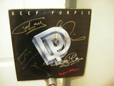 Deep Purple signed lp **Perfect strangers **5 band members **1984***