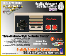Retro Nintendo Styled Controller Sticker / Decal - Car, Wall, Window, Tablet