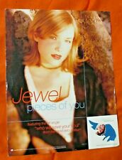 Jewel Kilcher Pieces Of You Stand Up Counter Display Who Will Save Your Vg Cond