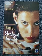 STEALING BEAUTY Bertolucci Original 1990s Belgian Movie Poster Liv Tyler