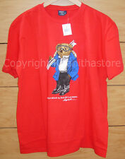 Polo Ralph Lauren Bear T- Shirt**NEW WITH TAG/Size LARGE**
