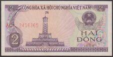 TWN - VIETNAM 91a - 2 Đồng 1985 AU/UNC Various Prefixes