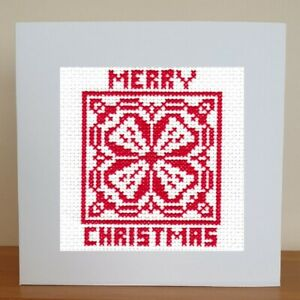 Christmas Card - Cross Stitch Kit - 1 of 4