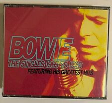 David Bowie - The Singles Collection CD 1993 2 Discs EMI Music RCD 10218/19