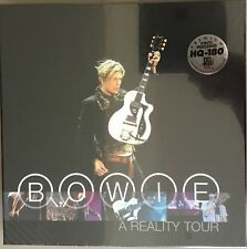 David Bowie A Reality Tour 3Lp Box Set 180g audiophile translucent vinyl