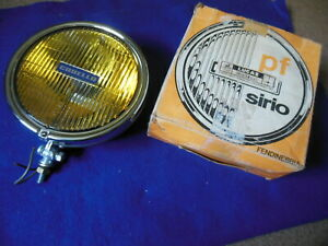 NOS Lucas Carello Fog Lamp MG Mini Austin Healey Alfa Fiat Lancia BMW Rally Cars