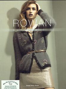 Rowan Studio Design books for knitting & crochet patterns ~ reduced to £3.95