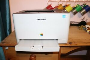 barely used samsung xpress c430w laser printer