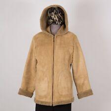 Womens Winter Jacket Size Petite Medium Brown JONES New York