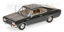 Opel Rekord C Coupe (1966) black 1:43 Minichamps 430046180