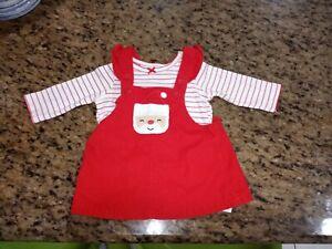 Carter's baby girl Christmas set3-6 months