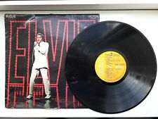 "Elvis Presley: Original Soundtrack Recording NBC TV Special - LP Vinyl 12"" 1968"