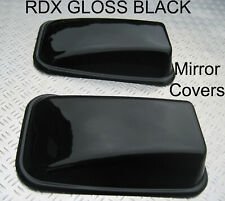 RDX GLOSS BLACK Mirror Covers Land Rover Defender 90 110 Tdi Td5 Tdci