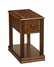 Ashley T007-527 Breegin, Chairside End Table With Bottom Shelf & 1 Drawer, Brown