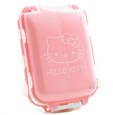 New Cute Hello Kitty Folded Pill Box Organizer Medicine Vitamin Storage Travel