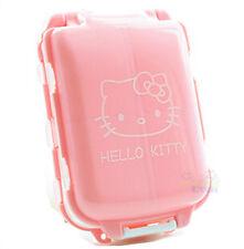 New Cute Hello Kitty Folded Pill Box Organizer Medicine Vitamin Storage Travel