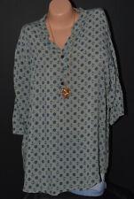 Sheego Bluse Shirt Tunika Gr 42 bis 52 Weiß mit Stickerei NEU 949