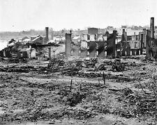 New 8x10 Civil War Photo: Ruins Near Tredegar Iron Works in Richmond, Virginia