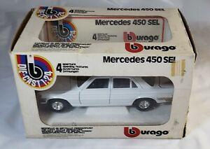 Vintage - Mercedes 450 Sel - Die-Cast 1/24 Bburago Cod. 0122