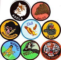 Boy Scout CUB Leader Badges x 8