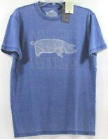 Lucky Brand Pink Floyd Animals Pig Federal Blue T-Shirt Choose Size