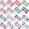 10x Pretty Sweet Hair Snap Clips Hairpin Girls Baby Kids Hair Accessories Gift