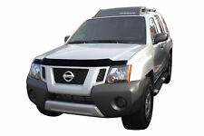 Aeroskin Flush Mount Low Profile Smoked Hood Protector for 05-20 Nissan Frontier