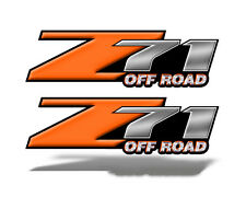 Z71 OFFROAD Graphic Decal Chevy Silverado GMC Sierra ORANGE Truck Bed Mk016z71OR