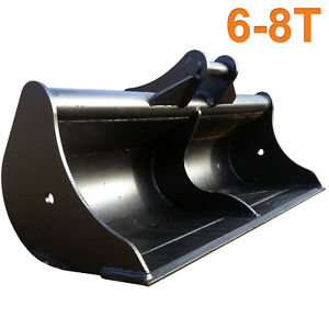 5ft Ditching Digging Grading Bucket, for 6, 7, 8 Ton Tonne Excavator Digger