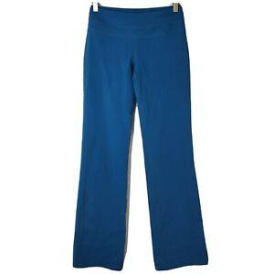Prana Womens Size XS Regular Inseam Teal Stretchy Activewear Yoga Pants