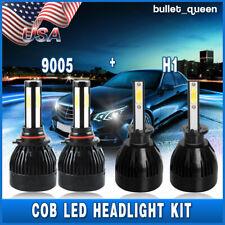 9005 H1 6000K LED Headlight Kit Combo Bulb High Low Beam for Acura RSX 2005-2006